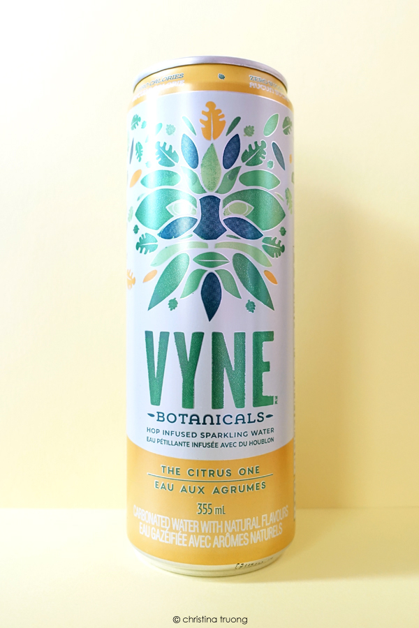 VYNE Botanicals The Citrus One Hop Infused Sparkling Water Review