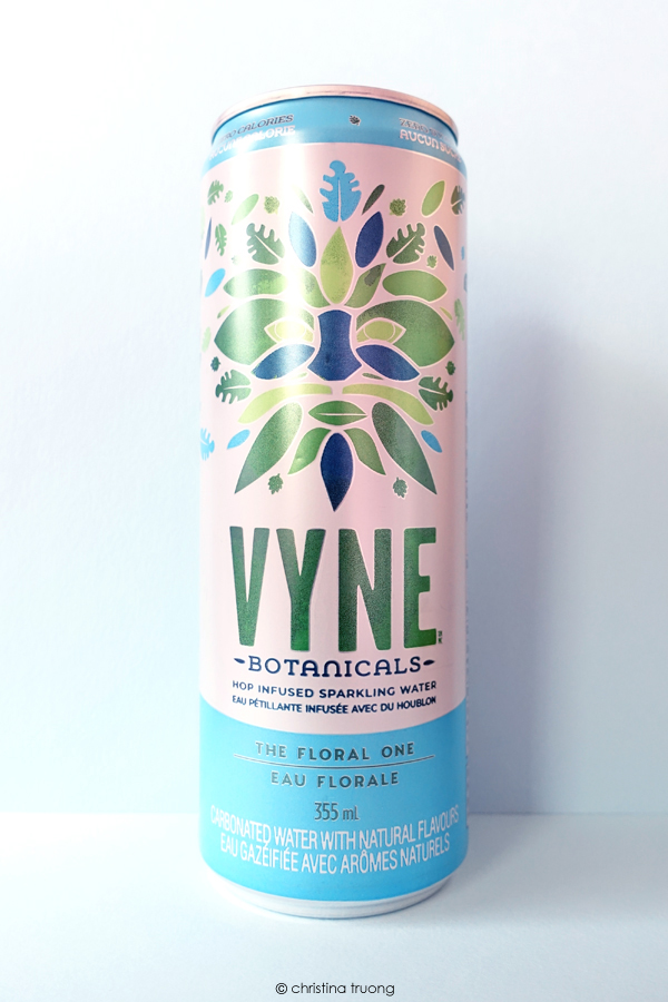 VYNE Botanicals The Floral One Hop Infused Sparkling Water Review