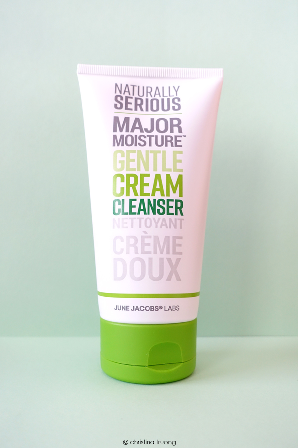 Naturally Serious Skincare Major Moisture Gentle Cream Cleanser Review
